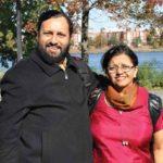 Prakash Javadekar With His Wife Dr. Prachi Prakash Javadekar