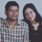 Priyanka Kandwal with her father