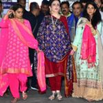 Radhika Merchant with Ambani's Family