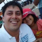 Rakesh Kukreti with his daughter