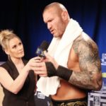 Renee Young At Her Debut At WWE