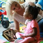 Renee Young With Disabled Children
