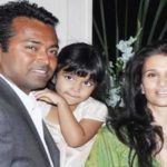 Rhea Pillai With Her Ex-Boyfriend Leandar Paes And Daughter