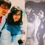 Richa Sharma and Sanjay Dutt in 1980s