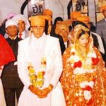 Richa Sharma and Sanjay Dutt marriage pic