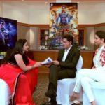 Rimi Tomy Talking To Shah Rukh Khan And Deepika Padukone