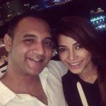 Rini Das with her boyfriend