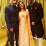 Rohan Khurana with his mother and brother Hrudhay Khurana