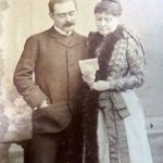 Rudyard Kipling With His Mother Alice Kipling