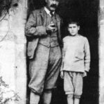 Rudyard Kipling With His Only Son John