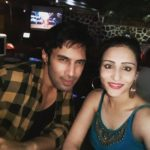 Saloni Sharma with her boyfriend