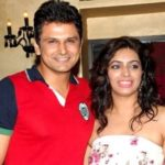 Sandeep Rajora with his wife Roshie Rana