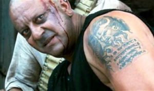 Sanjay Dutt Tattoo On Upper Arm Left Shoulder