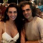 Sarah Todd with Imtiaz Ali