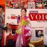 Sarath Kumar, Founder Of Media Voice Magazine