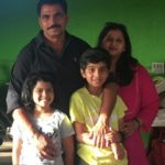 Sayaji Shinde with his family