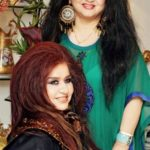 Shahnaz Husain With Her Daughter