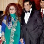 Shahnaz Husain With Husband 'Raj Kumar Puri'