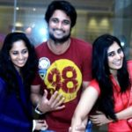 Shamili with her brother Richard Rishi and sister Shalini Kumar