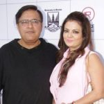 Sheeba Akashdeep with husband