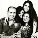 Sheena Bajaj with her family