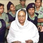 Sheikh Hasina Arrested