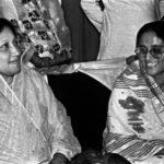 Sheikh Hasina With Khaleda Zia