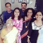 Shivani Rangole with her family