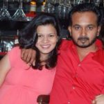 Snehal Jadhav With Her Husband Kedar Jadhav