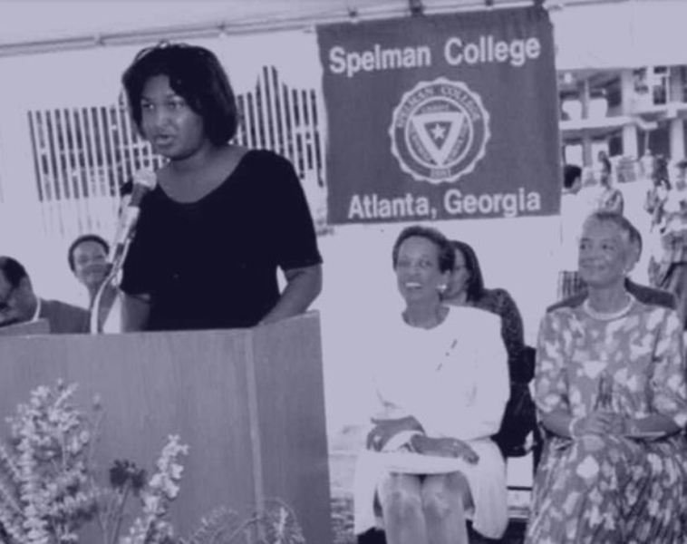 Stacey Abrams at Spelman College