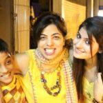 Subuhi Joshi with her mother Meenu Joshi and brother Tanmay Joshi