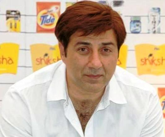 Sunny Deol in Wig