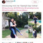 Sunny Leone Tweet About Rysa Saujani