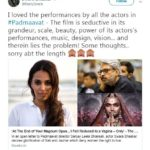 Swara Bhaskar tweet after watching Padmaavat