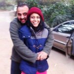 Swara Bhaskar with her brother