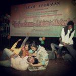 Tamanna Arora performaing at a play