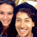 Tiger Shroff With His Sister Krishna Shroff