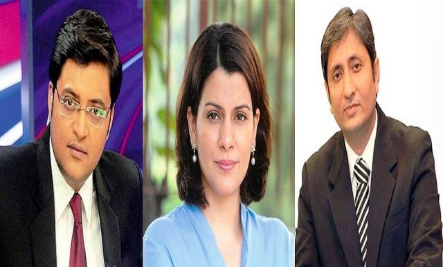 Top 10 Indian News Anchors