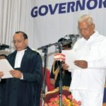 Vajubhai Vala - Governor of Karnataka oath ceremony