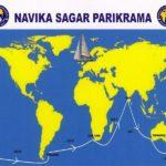 Vartika Joshi And INSV Tarini Route Map