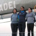 Vartika Joshi On Mhadei Boat