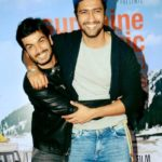 Sunny Kaushal with his brother