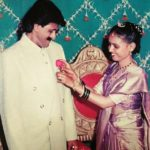 Vijay Patkar With His Wife