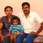 Yogendra Singh Yadav With Family
