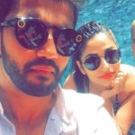Zaheer Iqbal with his sister