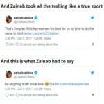 Zainab Abbas' Resporse Over The IPL Cricket Fans' Tweets