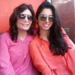Zainab Abbas With Her Mother