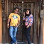 Snehal Jadhav With Her Husband Kedar Jadhav