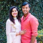 Mayank Agarwal with his wife Aashita Sood