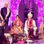 Aayush Sharma and Arpita Khan marriage photo